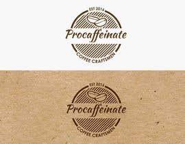 jiamun tarafından Design a Logo for a small coffee roasting business in New Zealand called Procaffeinate için no 82