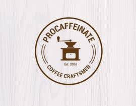 lareveuse tarafından Design a Logo for a small coffee roasting business in New Zealand called Procaffeinate için no 47