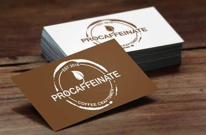 aliciavector tarafından Design a Logo for a small coffee roasting business in New Zealand called Procaffeinate için no 38