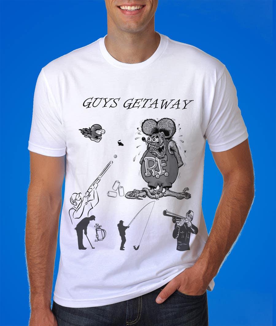 Kilpailutyö #7 kilpailussa Design a T-Shirt