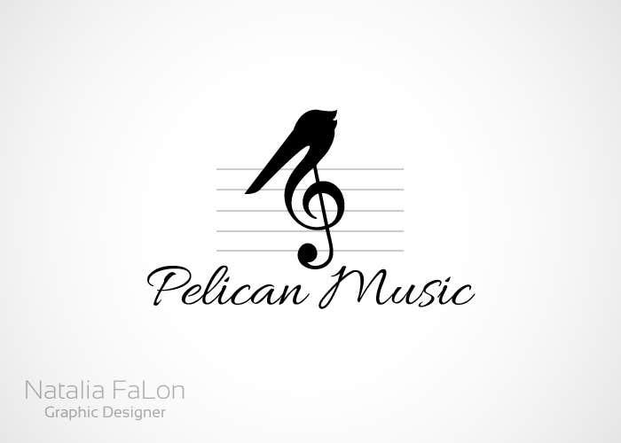 """Bài tham dự cuộc thi #83 cho Design a Logo for """"Pelican Music"""""""