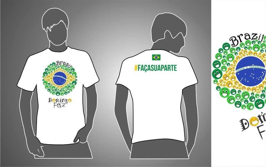 Kilpailutyö #7 kilpailussa Create shirt for Domingo Feliz