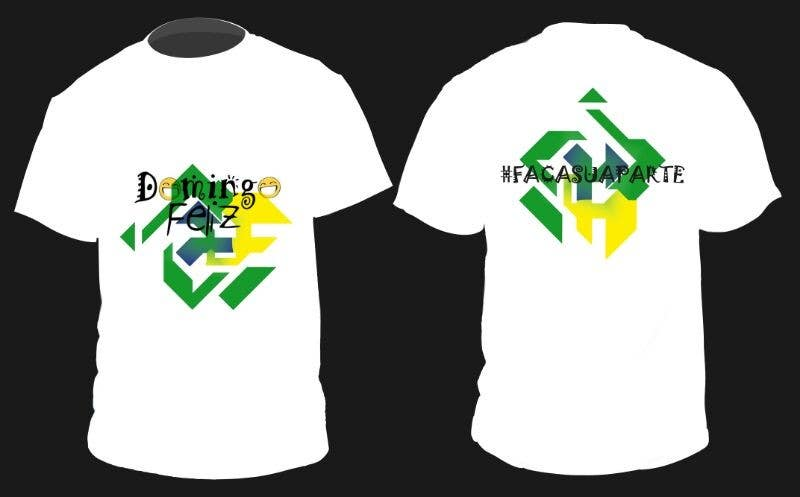 Kilpailutyö #15 kilpailussa Create shirt for Domingo Feliz