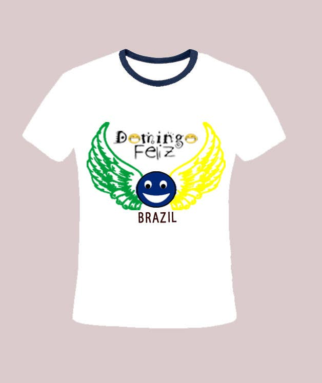 Kilpailutyö #10 kilpailussa Create shirt for Domingo Feliz