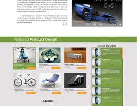 #25 cho Design a Website Mockup for our new product design website bởi vishakhvs