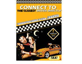 #29 for Advertisement Design for this will be a poster for a taxi cab app af gau7920