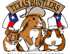 #32 for Design a Logo for Texas Rustlers Small Animal Rescue by tdkdesigns