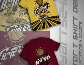DayArts2405 tarafından Design An Eye Catching Cleveland Cavaliers T-Shirt Design için no 49