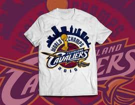 RedHotIceCold tarafından Design An Eye Catching Cleveland Cavaliers T-Shirt Design için no 41