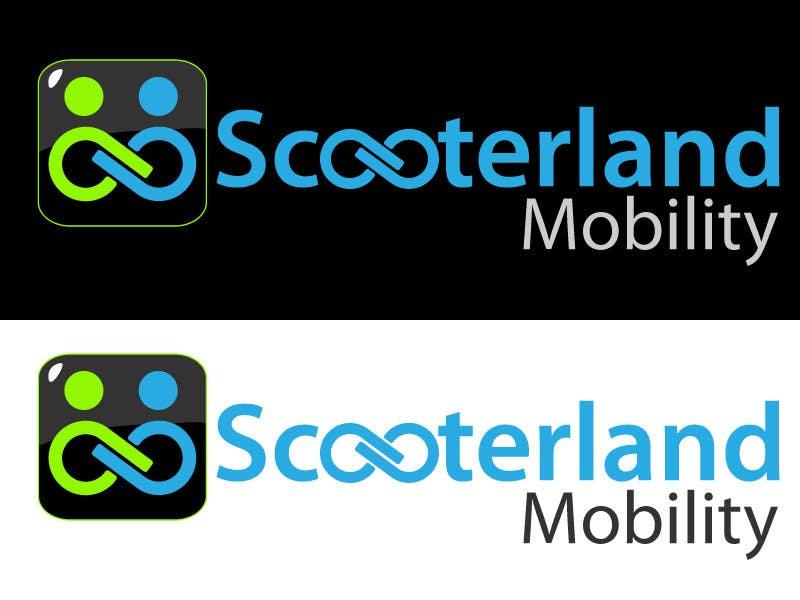 Entri Kontes #112 untukLogo Design for Scooterland Mobility