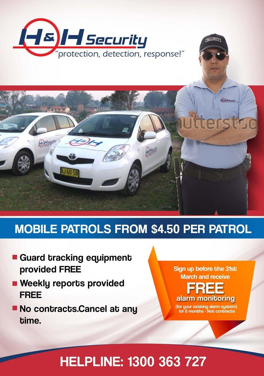 #25 for Design a Flyer for Mobile Patrol promotion by freelancejob2013