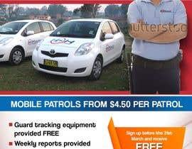 freelancejob2013 tarafından Design a Flyer for Mobile Patrol promotion için no 25