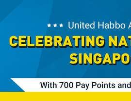 Nro 1 kilpailuun Design a website banner for singapore national day and habbo käyttäjältä Kuldeep9