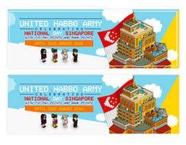 Nro 4 kilpailuun Design a website banner for singapore national day and habbo käyttäjältä ClaudiuTrusca