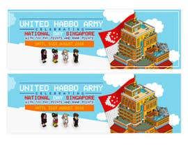 Nro 5 kilpailuun Design a website banner for singapore national day and habbo käyttäjältä ClaudiuTrusca