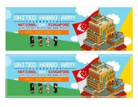 Nro 6 kilpailuun Design a website banner for singapore national day and habbo käyttäjältä ClaudiuTrusca
