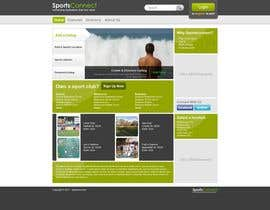 #10 Website Design for Sportsconnect részére Krishley által