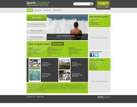 #36 Website Design for Sportsconnect részére Krishley által