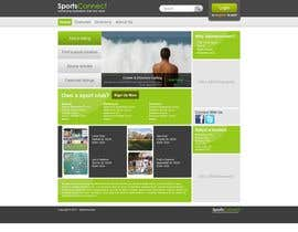 #37 für Website Design for Sportsconnect von Krishley