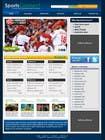 Graphic Design Inscrição do Concurso Nº47 para Website Design for Sportsconnect