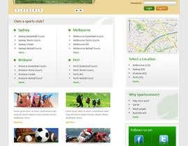 #112 für Website Design for Sportsconnect von rajranjan12