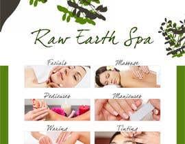 Nro 4 kilpailuun Raw Earth Skin Spa Poster käyttäjältä Asif155