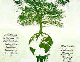 Nro 6 kilpailuun Raw Earth Skin Spa Poster käyttäjältä darkom91