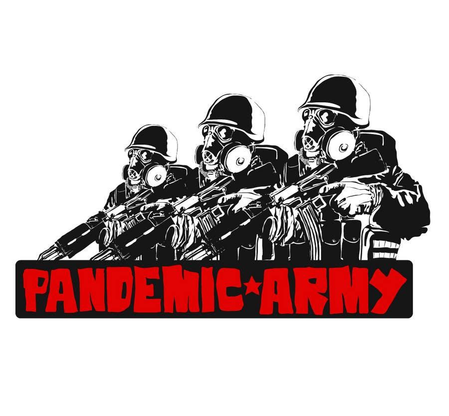 Konkurrenceindlæg #                                        10                                      for                                         Logo Design for Pandemic Army