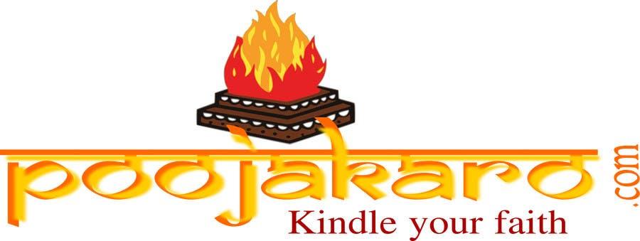 Kilpailutyö #24 kilpailussa Design a Logo for PoojaKaro.com