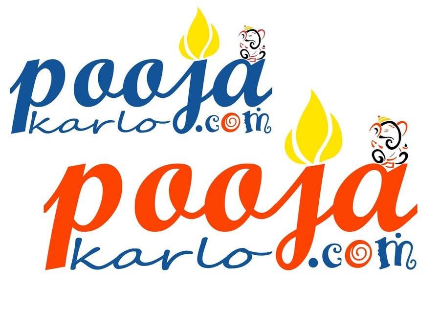 Kilpailutyö #29 kilpailussa Design a Logo for PoojaKaro.com
