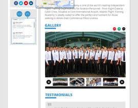 Nro 7 kilpailuun Design a Website Page Mockup käyttäjältä sheriffhosni