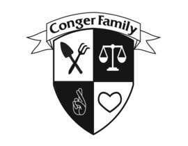 denizyilmaz1 tarafından Conger Irwin Family Crest için no 16