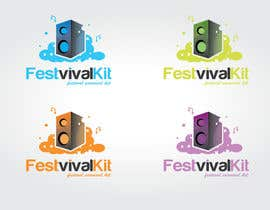 "#12 untuk Design a Logo for A ""Festival Survival Kit"" oleh chrissieroberts"