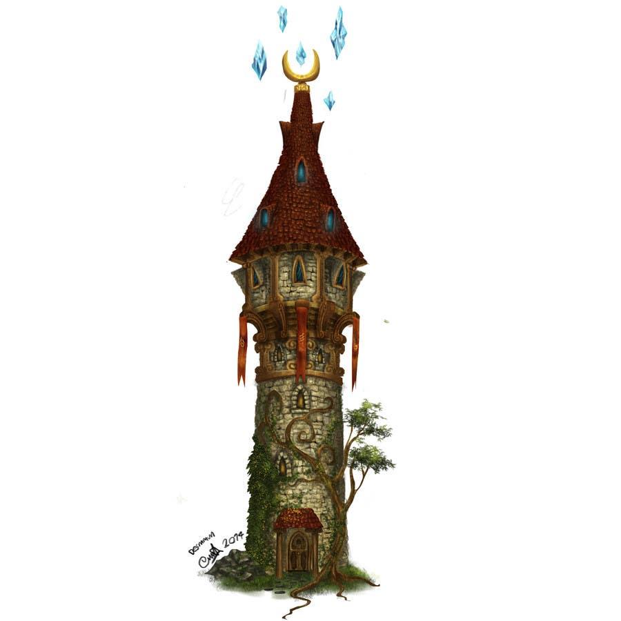 Konkurrenceindlæg #5 for Fantasy buildings for a new online game