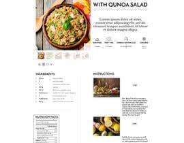 Nro 13 kilpailuun Re-design recipe page käyttäjältä olanloco