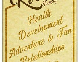 Nro 19 kilpailuun Design a Banner for our Family Values käyttäjältä jeffnelshabong