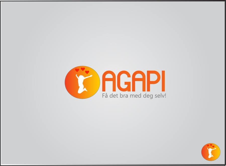 Inscrição nº 38 do Concurso para Design a Logo for Agapi.no
