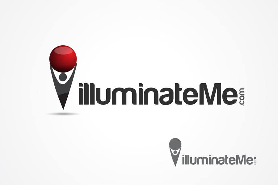 Penyertaan Peraduan #                                        100                                      untuk                                         Logo Design for IlluminateMe.com - A Crowdsourced News Site