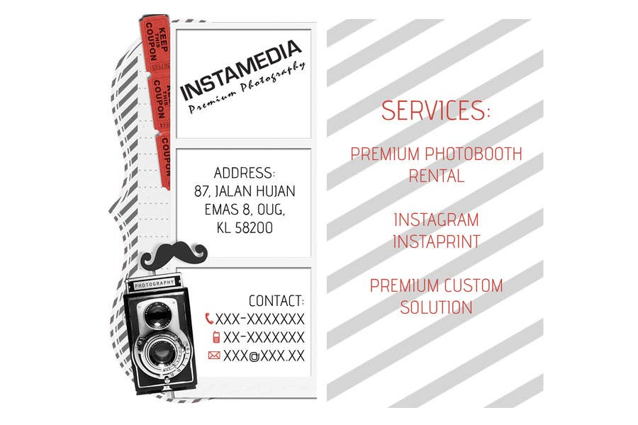 #5 for Business Card Design for Creative Event company by BolilloMalaX