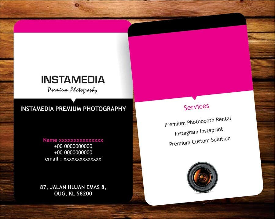 #2 for Business Card Design for Creative Event company by rajkumar9871