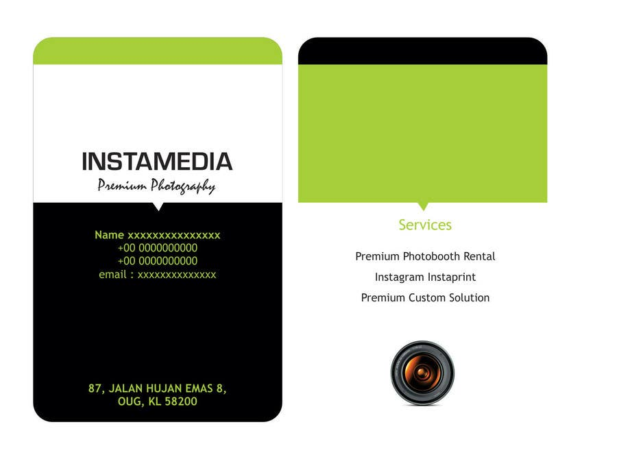 #42 for Business Card Design for Creative Event company by rajkumar9871
