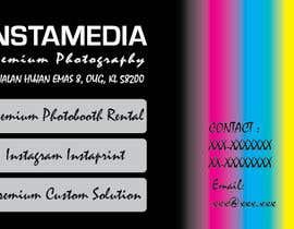 Nro 82 kilpailuun Business Card Design for Creative Event company käyttäjältä misejka