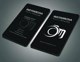 Nro 74 kilpailuun Business Card Design for Creative Event company käyttäjältä Habib919000