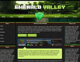 #5 untuk Design a basic HTML website template for my Minecraft Server oleh piratepixel