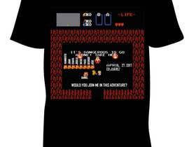MrMarioBros tarafından Design a T-Shirt için no 1