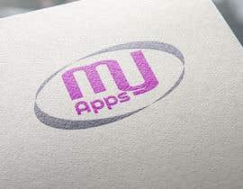 nazmul24art tarafından logo design for MyApps için no 24