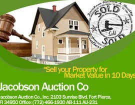 "#2 for 3""x4"" Advertisement Design; Auction Company; Needed ASAP by AuraCoders"