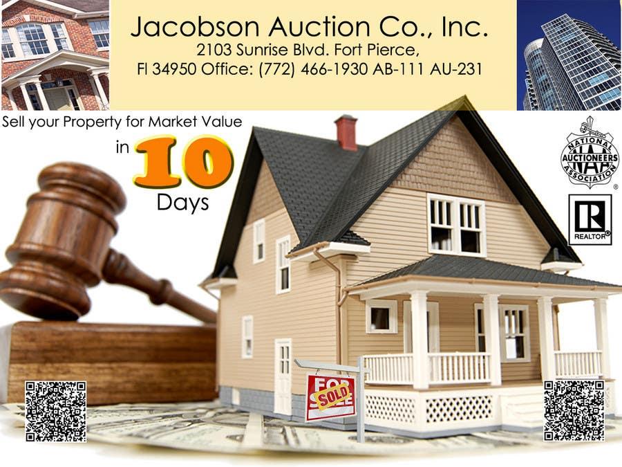 """Inscrição nº                                         29                                      do Concurso para                                         3""""x4"""" Advertisement Design; Auction Company; Needed ASAP"""