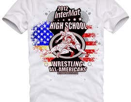 #46 for T-shirt Design for InterMatWrestle.com af mykferrer