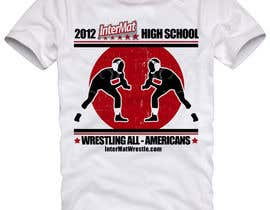 #23 untuk T-shirt Design for InterMatWrestle.com oleh mykferrer